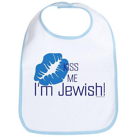 Kiss Me I'm Jewish Bib