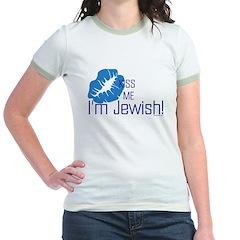 Kiss Me I'm Jewish T