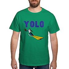 Yolo Skiing T-Shirt