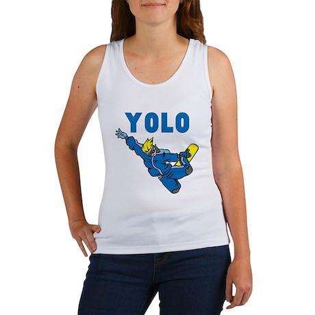 Yolo Snowboarding Women's Tank Top