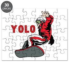 Yolo Snowboarding Puzzle