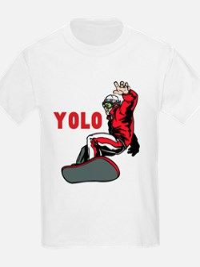 Yolo Snowboarding T-Shirt
