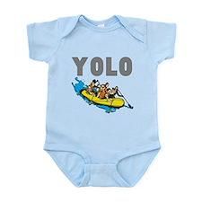 Yolo River Rafting Infant Bodysuit