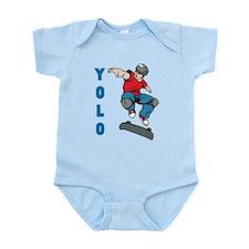 Yolo Skateboarding Infant Bodysuit
