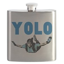 Yolo Skydiving Flask