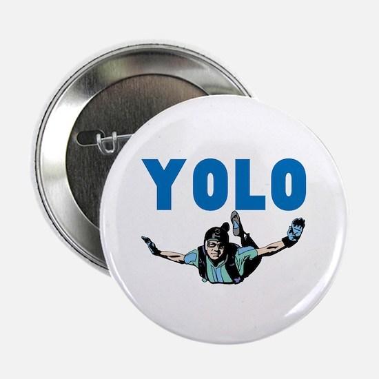 "Yolo Skydiving 2.25"" Button"