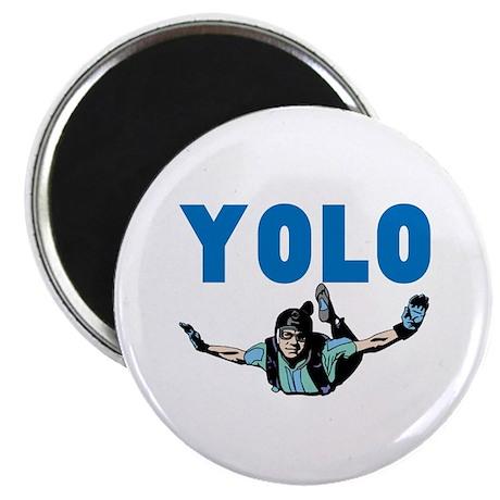Yolo Skydiving Magnet