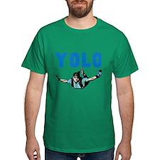 Yolo Skydiving T-Shirt