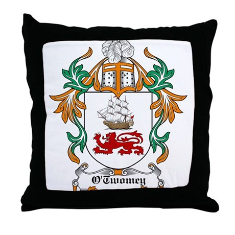 O'Twomey Coat of Arms Throw Pillow