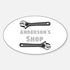 Personalized Shop Decal