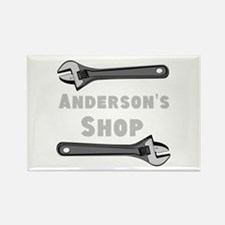 Personalized Shop Rectangle Magnet