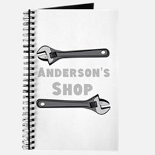 Personalized Shop Journal