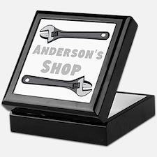 Personalized Shop Keepsake Box