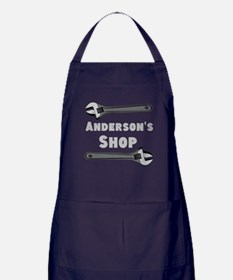 Personalized Shop Apron (dark)