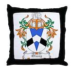Otway Coat of Arms Throw Pillow
