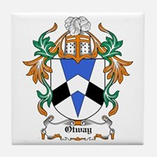 Otway Coat of Arms Tile Coaster