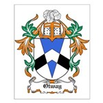 Otway Coat of Arms Small Poster