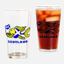Scotland Fish, Fabspark Drinking Glass
