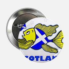 """Scotland Fish, Fabspark 2.25"""" Button"""