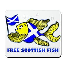 Free Scottish fish, fabspark Mousepad