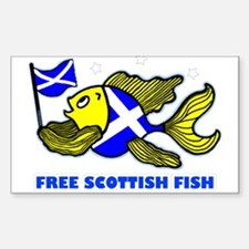 Free Scottish fish, fabspark Decal