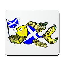 Scotland Fish, Fabspark Mousepad