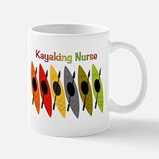 Kayaking Nurse.PNG Mug