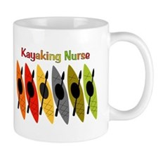 Kayaking Nurse.PNG Mug