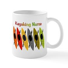 Kayaking Nurse.PNG Small Mug