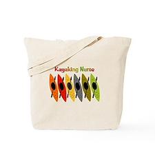 Kayaking Nurse.PNG Tote Bag