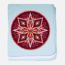 Native American Rosette 14 baby blanket