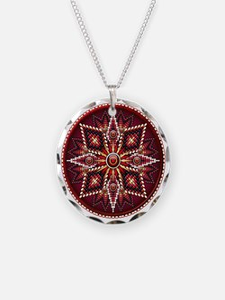 Native American Rosette 14 Necklace