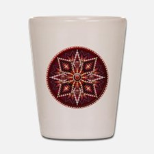 Native American Rosette 14 Shot Glass