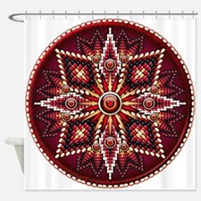 Native American Rosette 14 Shower Curtain