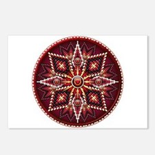 Native American Rosette 14 Postcards (Package of 8