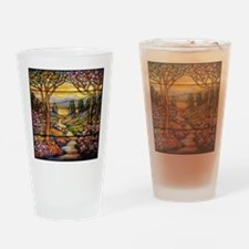 Tiffany Stained Glass Drinking Glass