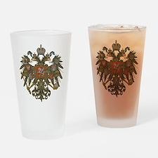 Romanov Crest Drinking Glass
