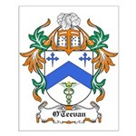 O'Teevan Coat of Arms Small Poster