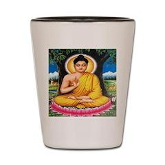 Buddha Meditating Shot Glass