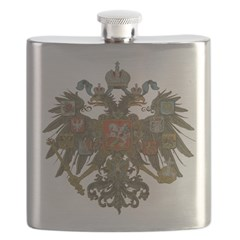 Romanov Crest Flask