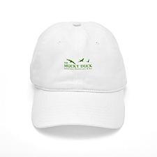 Mucky Duck Logo_ Green Baseball Cap