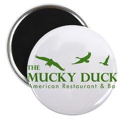 Mucky Duck Logo_ Green Magnet