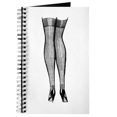 Vintage Chick Sexy Stockings Journal