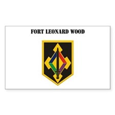 Fort Leonard Wood with Text Decal