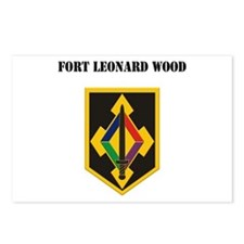 Fort Leonard Wood with Text Postcards (Package of