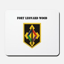 Fort Leonard Wood with Text Mousepad