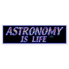 Astronomer Car Sticker