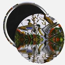 Duck Flight Reflection Magnet