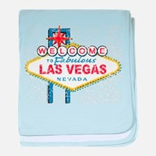 Welcome to Fabulous Las Vegas baby blanket