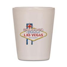 Welcome to Fabulous Las Vegas Shot Glass
